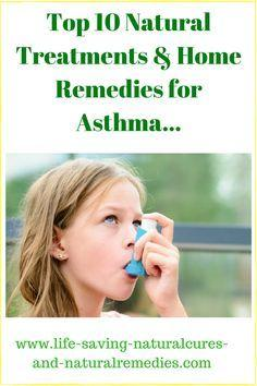 A Powerful Home Remedy for Asthma That Works Every Time! | health ...