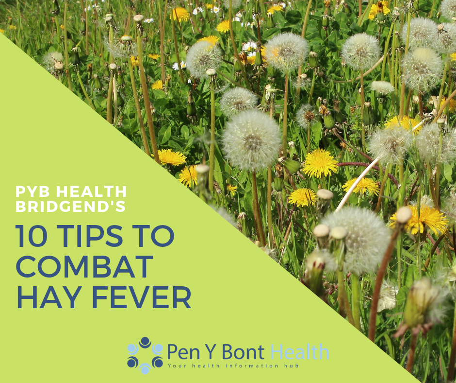 PYB Health Bridgend\'s Top 10 Tips to Combat Hay Fever - News - PYB ...